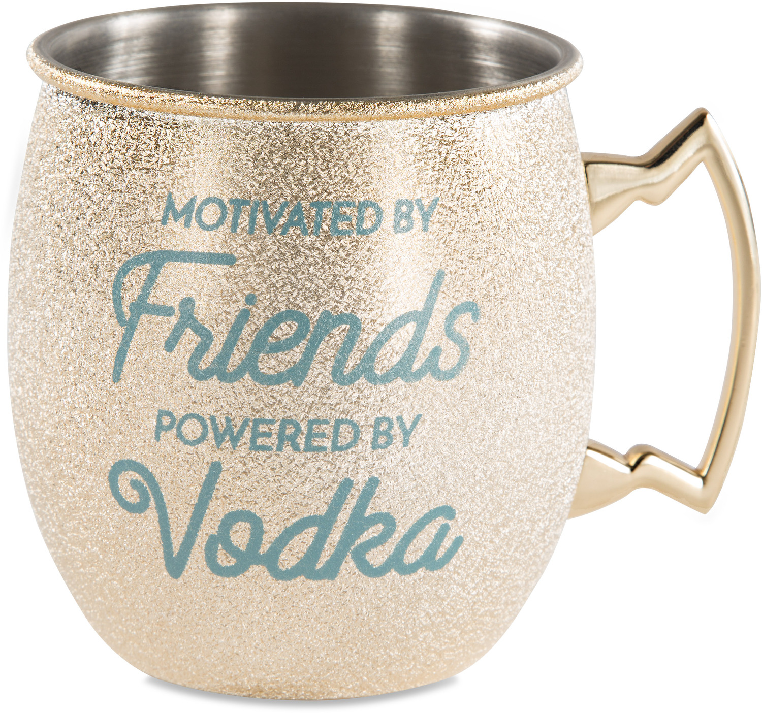Friends and Vodka by My Kinda Girl - Friends and Vodka - 20 oz Stainless Steel Moscow Mule