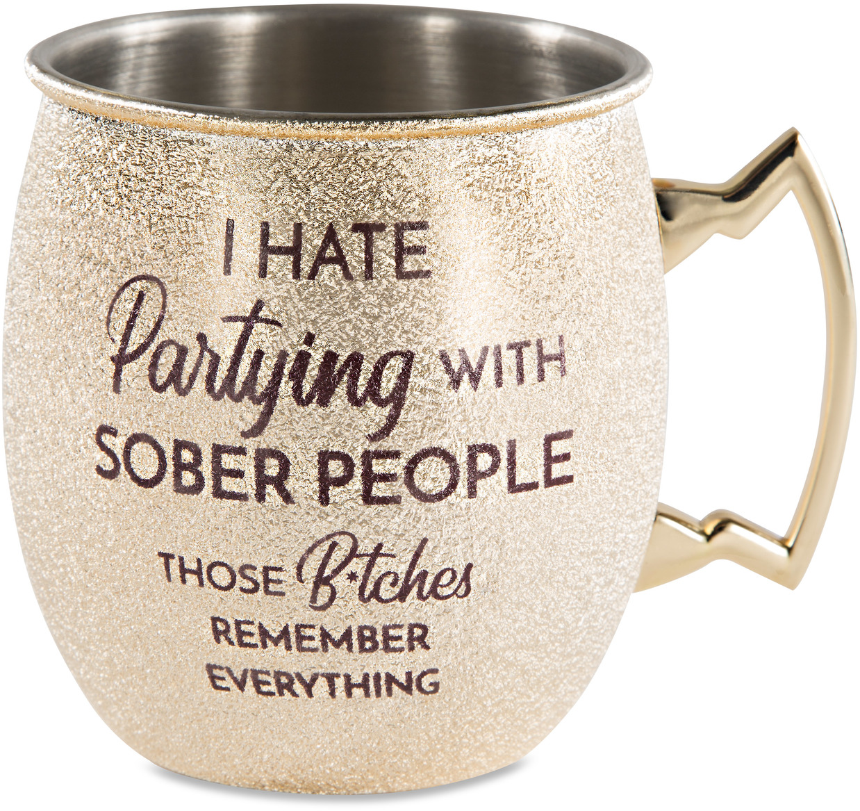 Partying by My Kinda Girl - Partying - 20 oz Stainless Steel Moscow Mule
