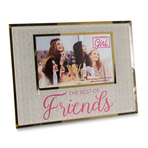 "Best of Friends by My Kinda Girl - 9.25""x7.25"" Frame (Holds 6"" x 4"" Photo)"
