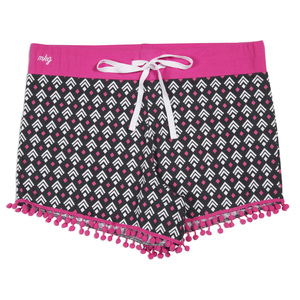 Boss Girl by My Kinda Girl - S Gray Ladies Lounge Shorts