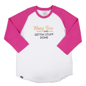 Boss Girl by My Kinda Girl - S - 3/4 Length Sleeve Ladies T-Shirt