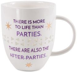 After Parties by My Kinda Girl - 24 oz Pierced Porcelain Cup
