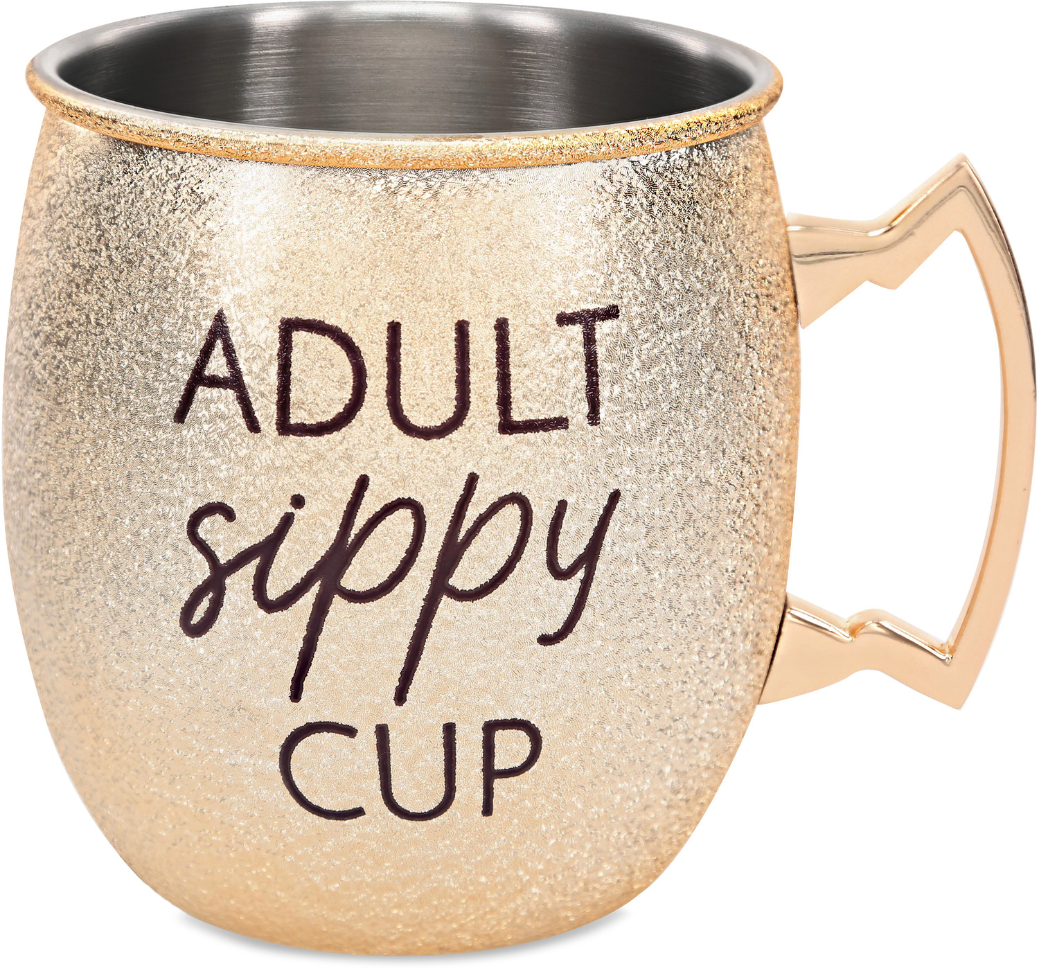 Sippy Cup by My Kinda Girl - Sippy Cup - 20 oz Stainless Steel Moscow Mule