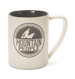 Mountain People by We People - 18oz. Mug