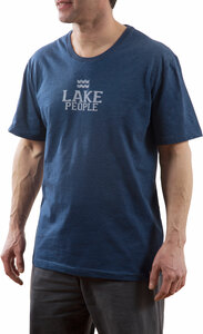 Lake People by We People - Small Navy Unisex T-Shirt