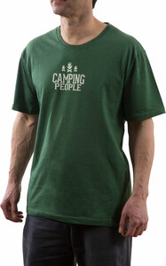 Camping People by We People - Small Green Unisex T-Shirt