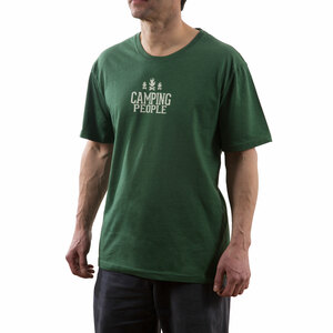 Camping People by We People - Large Green Unisex T-Shirt