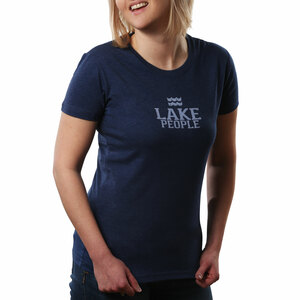 Lake People by We People - Extra Large Navy Women's T-Shirt