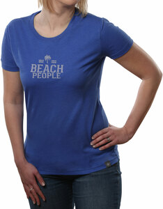 Beach People by We People - Small Blue Women's T-Shirt