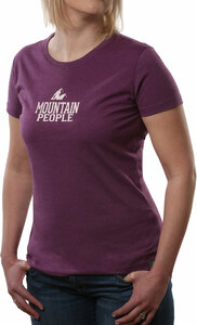 Mountain People by We People - Small Purple Women's T-Shirt