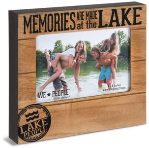 "Lake People by We People - 6.75"" x 7.45"" Frame (holds 4"" x 6"" photo)"