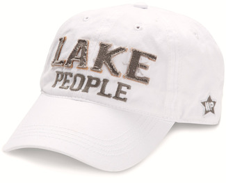 Lake People by We People - White Adjustable Hat