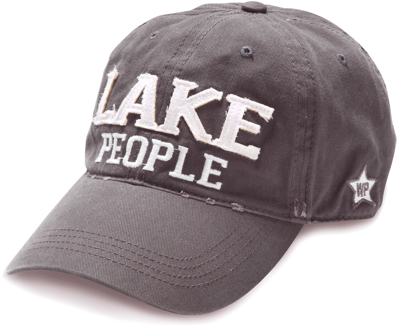 4967ae32 Lake People, Dark Gray Adjustable Hat - We People - Pavilion