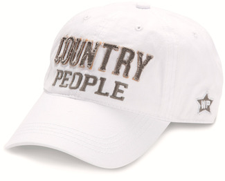 Country People by We People - White Adjustable Hat