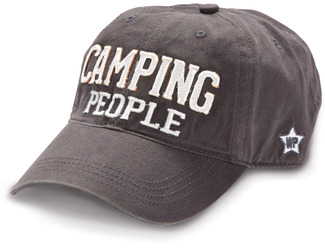 Camping People by We People - Dark Gray Adjustable Hat