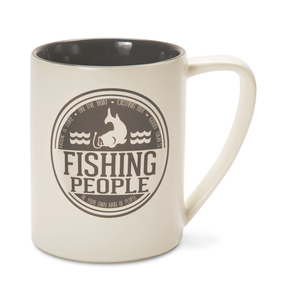 Fishing People by We People - 18 oz Mug