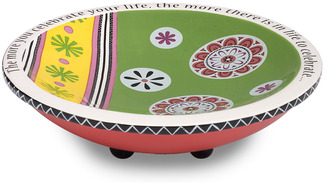 "Celebrate by Groovy Garden - 6.5"" Ceramic Bowl"