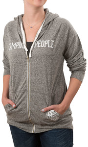 Camping People by We People - Small Dark Gray Unisex  Hooded Sweatshirt
