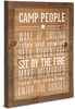 Camp People Rules by We People -