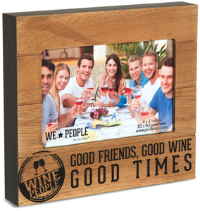 "Wine People by We People - 6.75"" x 7.5"" Frame (holds 4"" x 6"" photo)"