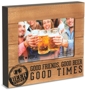 "Beer People by We People - 6.75"" x 7.5"" Frame (holds 4"" x 6"" photo)"