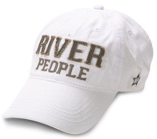 River People by We People - White Adjustable Hat