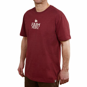 Farm People by We People -  Small Red Unisex T-Shirt