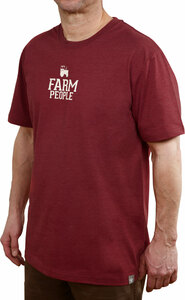 Farm People by We People - Large Red Unisex T-Shirt