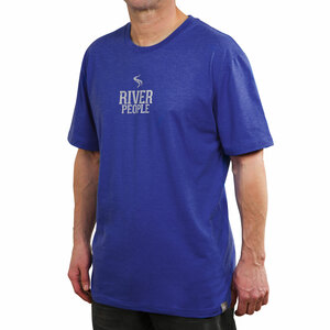 River People by We People - Large Blue Unisex T-Shirt