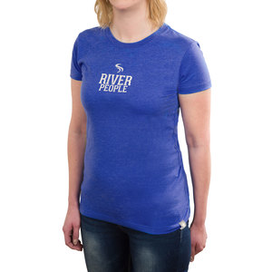 River People by We People - Double Extra Large Blue Women's T-Shirt