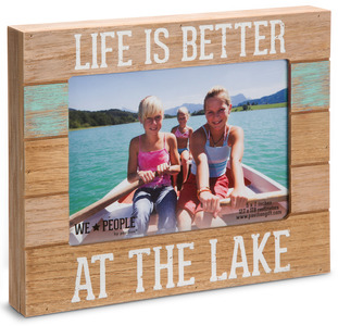 "Lake People by We People - 7.25"" x 9"" Frame (Holds 5"" x 7"" photo)"