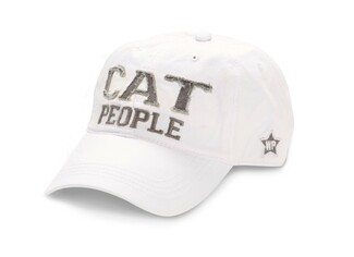 Cat People by We People - White Adjustable Hat