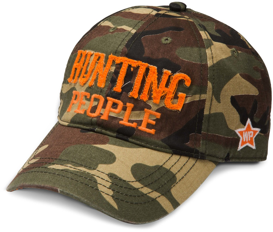 Hunting People by We People - Hunting People Snapback Camouflage Hat