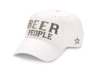 Beer People by We People - White Adjustable Hat