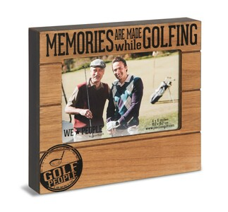 "Golf People by We People - 6.75"" x 7.5"" Frame (Holds 4"" x 6"" Photo)"