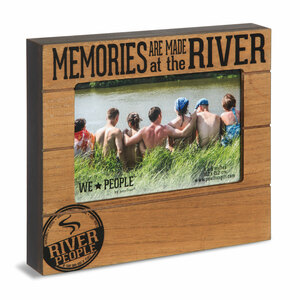 "River People by We People - 6.75"" x 7.5"" Frame (Holds 4"" x 6"" Photo)"