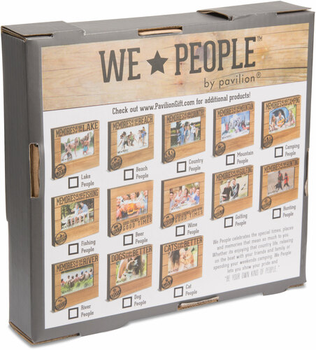 Memories are Made at The River 4x6 Picture Frame Pavilion Gift Company 67264 Pavilion