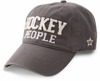 Hockey People by We People - Dark Gray Adjustable Hat