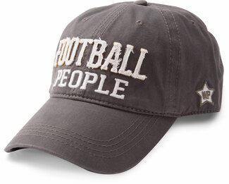 Football People by We People - Dark Gray Adjustable Hat