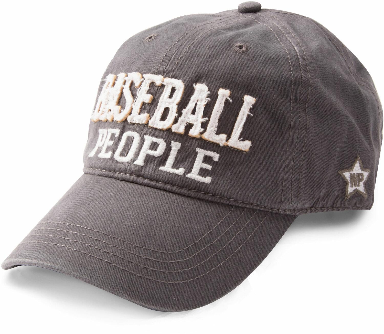 ebe6da52ed3 Baseball People by We People - Baseball People - Dark Gray Adjustable Hat