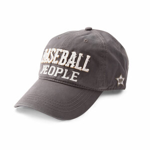 Baseball People by We People - Dark Gray Adjustable Hat