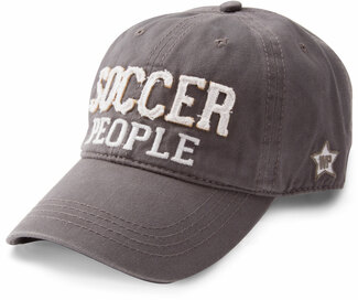Soccer People by We People - Dark Gray Adjustable Hat