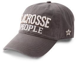 Lacrosse People by We People - Dark Gray Adjustable Hat