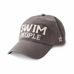 Swim People by We People - Dark Gray Adjustable Hat