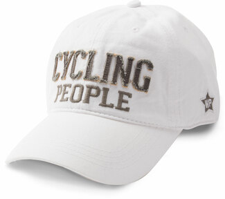 Cycling People by We People - White Adjustable Hat