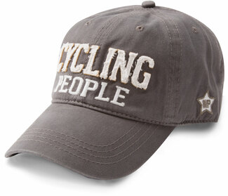 Cycling People by We People - Dark Gray Adjustable Hat