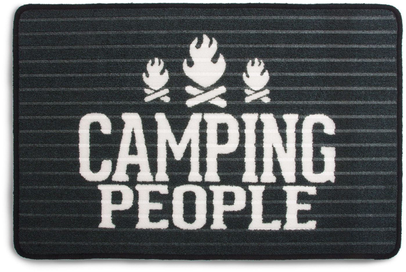 "Camping People by We People - Camping People - 27.5 x 17.75"" Floor Mat"