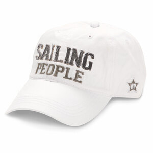 Sailing People by We People - White Adjustable Hat