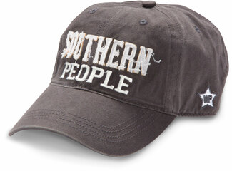 Southern People by We People - Dark Gray Adjustable Hat