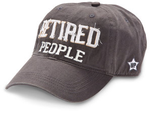 Retired People by We People - Dark Gray Adjustable Hat